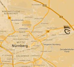 Anfahrt Anima Sana Nürnberg